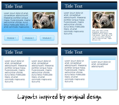 Articulate Rapid E-Learning Blog - elearning layouts for elearning template
