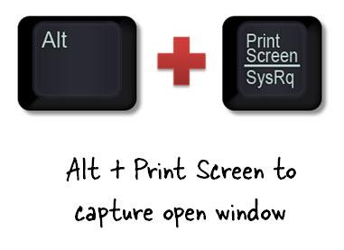 Articulate Rapid E-Learning Blog - Alt + Print Screen for screenshot