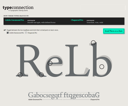 Articulate Rapid E-Learning Blog - learn about fonts using the typeconnection game