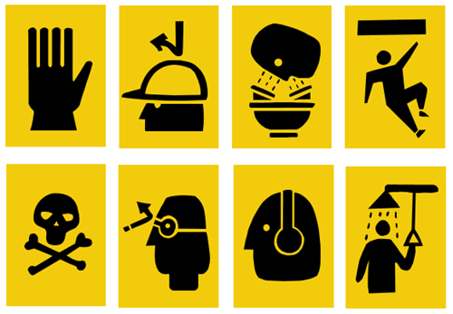 Articulate Rapid E-Learning Blog - free safety training icons