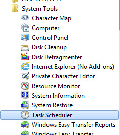 Articulate Rapid E-Learning Blog - task scheduler is in your accessories folder