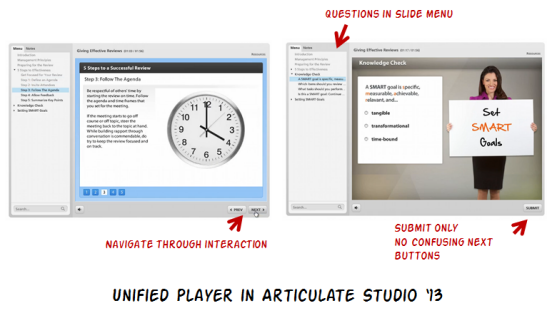 Articulate Rapid E-Learning Blog - improved unified player in Articulate Studio '13