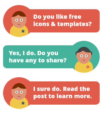 Articulate Rapid E-learning Blog - free icons & free e-learning template