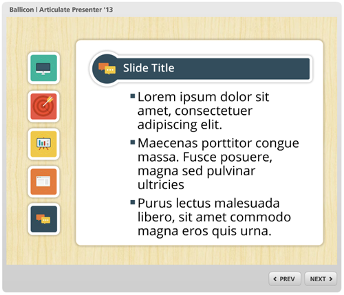 Articulate Rapid E-learning Blog - free icons powerpoint example free e-learning template