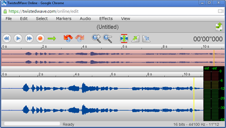 Articulate Rapid E-learning Blog -  free audio editor recording twisted wave