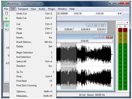 Articulate Rapid E-learning Blog -  free audio editor recording waveshop