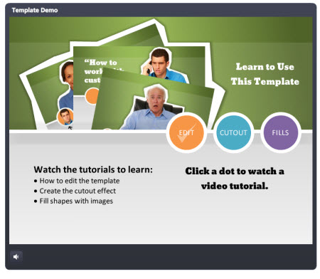 The Rapid E-Learning Blog - tutorial for the free PowerPoint elearning template