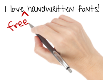 Articulate Rapid E-Learning Blog - free handwritten fonts