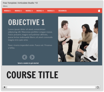 Articulate Rapid E-Learning Blog - free elearning template 1