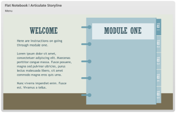 Articulate Rapid E-Learning Blog - free elearning template 5