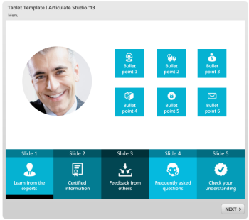 Articulate Rapid E-Learning Blog - free elearning template 9