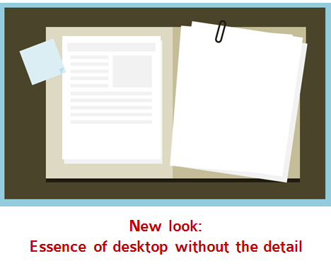 Articulate Rapid E-Learning Blog - flat UI desktop template